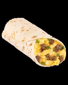 Spicy Sausage Burrito