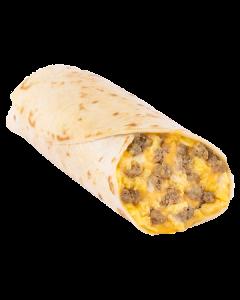 Turkey Sausage Burrito