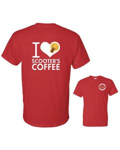 I Love Scooter's Coffee T-Shirt