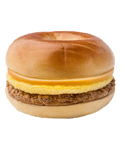 Plain Bagel Sandwich