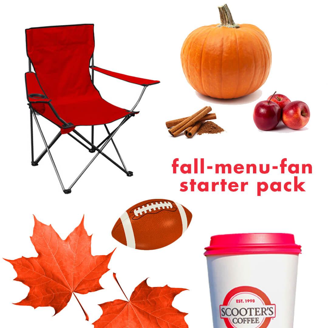 Fall menu fan starter pack