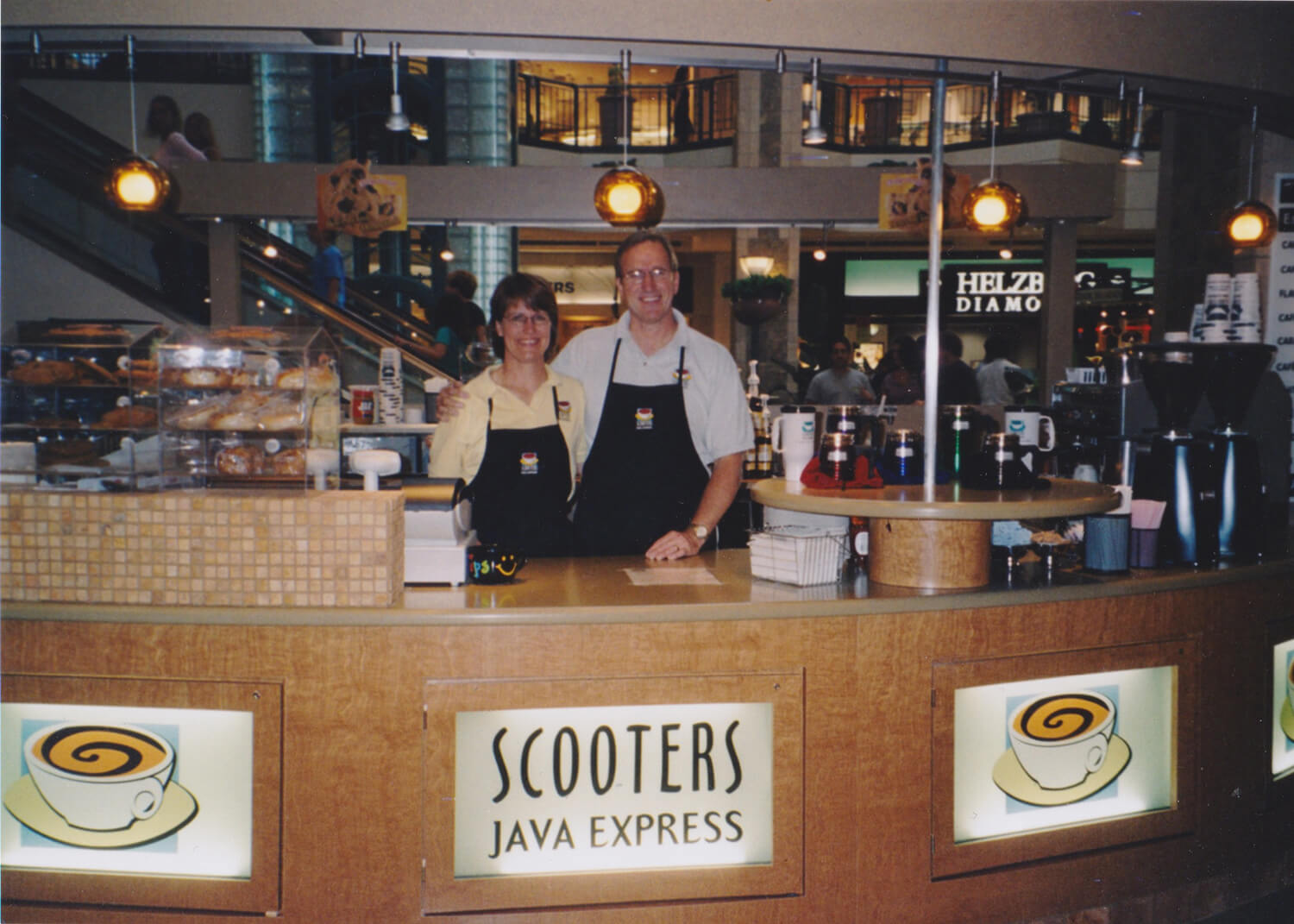 Don & Linda at Scooter's Coffee