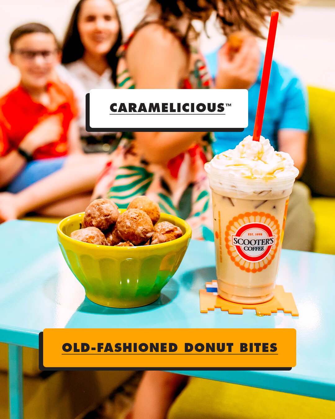 Caramelicious and Old Fashioned Donut Bites