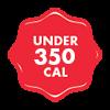 Under 350 Calories